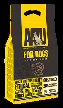 Беззерновой cухой корм AATU Adult Dog Turkey для взрослых собак с индейкой - фото 11123