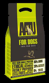 Беззерновой cухой корм AATU Adult Dog Duck для взрослых собак с уткой - фото 11125