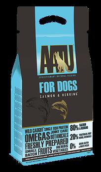 Беззерновой cухой корм AATU Adult Dog Salmon/Herring для взрослых собак с лососем и сельдью - фото 11129