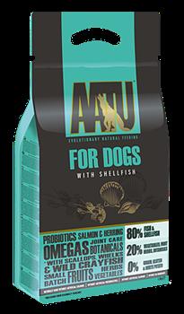 Беззерновой cухой корм AATU Adult Dog Fish/Shellfish для взрослых собак с рыбой и моллюсками - фото 11133