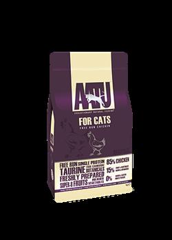 Беззерновой cухой корм AATU Cat Chicken для взрослых кошек с курицей - фото 11148