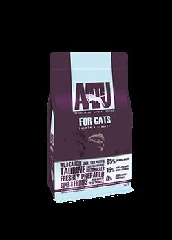 Беззерновой cухой корм AATU Cat Salmon/Herring для взрослых кошек с лососем и сельдью - фото 11152
