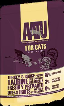 Пауч AATU для взрослых кошек с индейкой и гусем - фото 11155