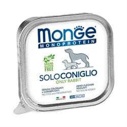 Паштет MONGE Monoprotein Solo для собак с кроликом - фото 11176
