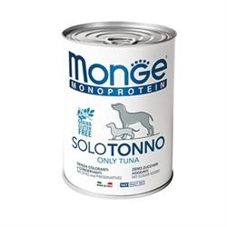 Паштет MONGE Monoprotein Solo для собак с тунцом - фото 11180