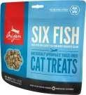 Лакомство Orijen Six Fish Cat для котят и кошек - 6 видов рыб - фото 11260