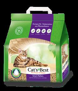Древесный комкующийся наполнитель Cat's Best Smart Pellets (Nature Gold) - фото 11274
