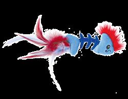 Игрушка Petstages для кошек PLAY FISH BONE рыбка с кошачьей мятой - фото 11462