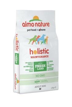 Сухой корм ALMO NATURE Medium Lamb для взрослых собак средних пород с ягненком - фото 11493