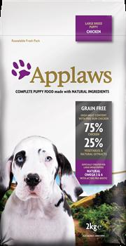 Беззерновой сухой корм APPLAWS Dry Dog Chicken Large Breed Puppy для щенков крупных пород с курицей и овощами - фото 11502