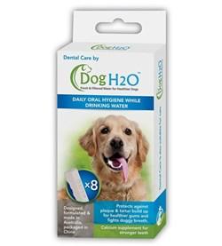 Комплект таблеток для гигиены полости рта DENTAL CARE (8 шт.) для поилок Feed-Ex CatH2O и DogH2O - фото 11840