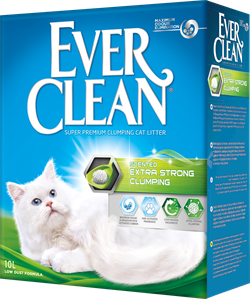 EVER CLEAN extra strong clumping scented