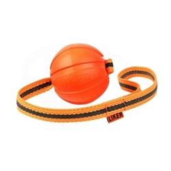Мячик ЛАЙКЕР ЛАЙН на ленте с петлей 9 см - фото 11925