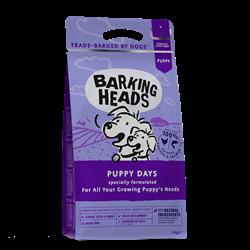 """Беззерновой cухой корм BARKING HEADS Puppy Days для щенков с лососем и курицей """"Щенячьи деньки"""" - фото 11955"""