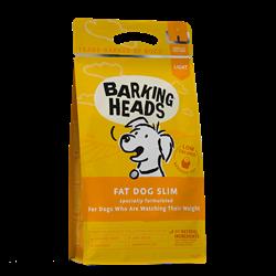 """Сухой корм BARKING HEADS FAT DOG SLIM для собак с избыточным весом с курицей и рисом """"Худеющий толстячок"""" - фото 12051"""