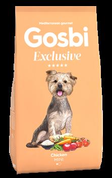Низкозерновой cухой корм GOSBI Exclusive для взрослых собак малых пород с курицей - фото 12129