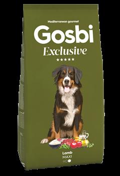 Низкозерновой cухой корм GOSBI Exclusive для взрослых собак крупных пород с ягненком - фото 12131