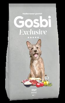 Низкозерновой cухой корм GOSBI Exclusive для взрослых собак малых пород склонных к избыточному весу с курицей, ягненком и рисом - фото 12145