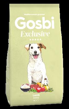 Низкозерновой cухой корм GOSBI Exclusive для взрослых собак малых пород с ягненком - фото 12150