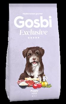 Низкозерновой cухой корм GOSBI Exclusive для щенков малых пород с курицей, рыбой и ягненком - фото 12156