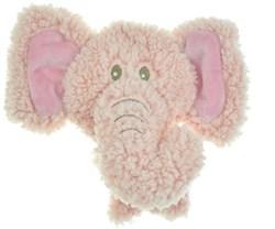 AROMADOG Игрушка для собак BIG HEAD Слон 12 см розовый - фото 12219