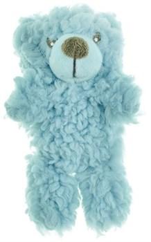 AROMADOG Игрушка для собак Мишка 6 см малый голубой - фото 12222