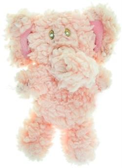 AROMADOG Игрушка для собак Слон 6 см малый розовый - фото 12224
