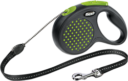 Поводок-рулетка Flexi Design М (до 20 кг) 5 м трос - фото 12249