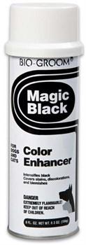Спрей-мелок Bio-Groom Magic Black черный выставочный - фото 12984