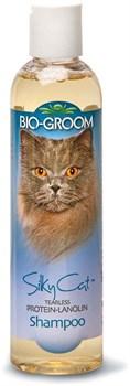 Шампунь кондиционирующий Bio-Groom для кошек с протеином и ланолином Silky Cat Shampoo - фото 12996