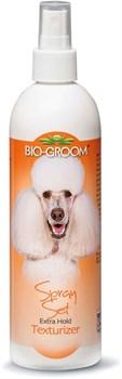 Спрей Bio-Groom Spray Set текстурирующий и фиксирующий шерсть - фото 13001