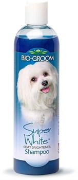 Шампунь Bio-Groom Super White Shampoo для собак белого и светлых окрасов - фото 13006