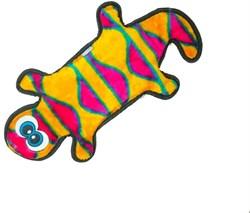 Игрушка для собак OH Invincibles Геккон большой 4 пищалки - фото 13726