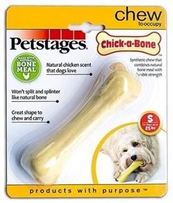 Игрушка для собак Petstages Chick-A-Bone косточка с ароматом курицы - фото 13747