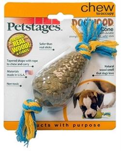 Petstages игрушка для собак Dogwood Шишка 14 см - фото 13755