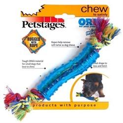 """Petstages игрушка для собак Mini """"ОРКА палочка"""" 18 см - фото 13761"""