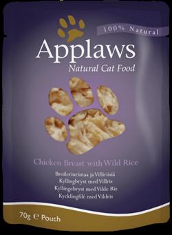 Пауч APPLAWS для взрослых кошек с курицей Cat Chicken - фото 13901