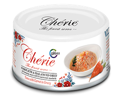 Консервы PETTRIC Cherie для кошек тунец с морковью в соусе профилактика МКБ Urinary Care Complete Balanced Diet Tuna with carrot in gravy - фото 13912