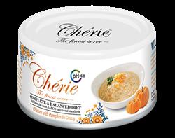 Консервы PETTRIC Cherie Urinary Care Complete Balanced Diet для взрослых кошек с курицей с тыквой в соусе - фото 13913