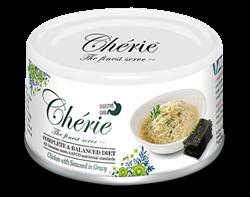 Консервы PETTRIC Cherie для кошек с курицей с морскими водорослями в соусе поддержка пищеварения Digestive Care Complete Balanced Diet - фото 13917