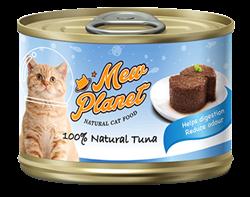 Консервы MEW PLANET для взрослых кошек паштет из тунца - фото 13926