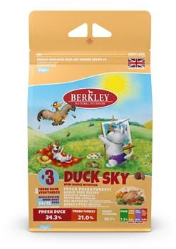Беззерновой cухой корм BERKLEY для взрослых собак мелких и средних пород №3 утка с овощами фруктами и ягодами - фото 13940