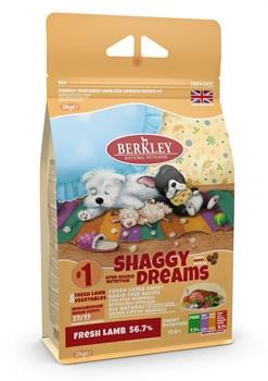Беззерновой cухой корм BERKLEY для щенков малых и средних пород №1 с ягненком с овощами, фруктами и ягодами - фото 13941
