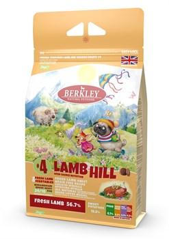 Беззерновой cухой корм BERKLEY для взрослых собак мелких и средних пород №4 с ягненком, с овощами, фруктами и ягодами - фото 13942