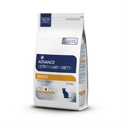 Сухой корм ADVANCE Obesity Management для взрослых кошек при ожирении - фото 14049