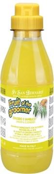 Шампунь против раздражений и перхоти Iv San Bernard для любого типа шерсти Fruit of the Grommer Ginger/Elderbery - фото 14117