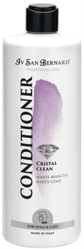 Кондиционер для устранения желтизны шерсти Iv San Bernard Traditional Line Cristal Clean - фото 14153
