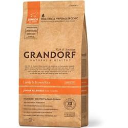 Сухой корм GRANDORF Lamb/Rice Junior для юниоров всех пород с ягненком и рисом - фото 14209