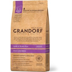 Сухой корм GRANDORF Lamb/Rice Adult Maxi для взрослых собак крупных пород с ягненком и рисом - фото 14213