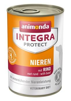 Консервы Animonda Integra Renal с говядиной для собак при ХПН - фото 14294